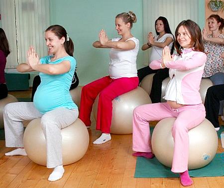 Платформа занятия для беременных