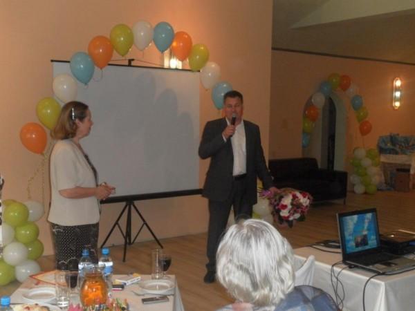 Поздравление с юбилеем от Управления здравоохранения Дмитровского муниципального района