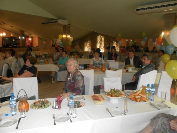 гости юбилейного вечера в честь 10-ти летия Дмитровского Центра медицинской профилактики