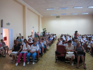 врачи на конференции в Сергиевом-Посаде