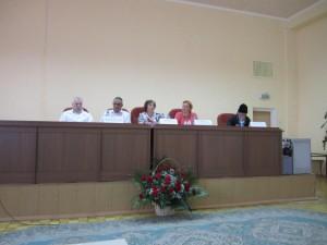 президиум конференции в Сергиевом-Посаде
