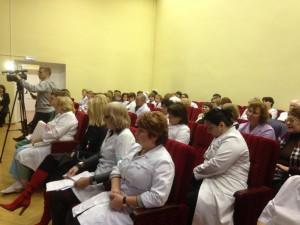 Научно-практическая конференция, посвященная Всемирному Дню борьбы с диабетом, 14 ноября 2013, Лобня