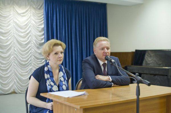 Конференцию открыл главный врач Ногинской ЦРБ Сергей Анатольевич Лившиц