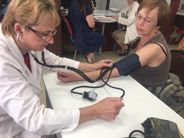 г.о. Руза Измерение артериального давления в МФЦ
