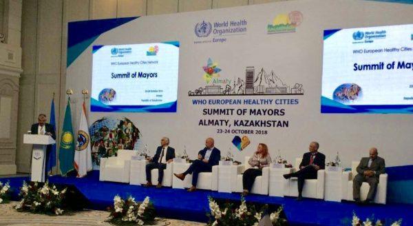 Иванова Екатерина Сергеевна на Сессии «Всемирный охват услугами здравоохранения как основа концепции здорового города»
