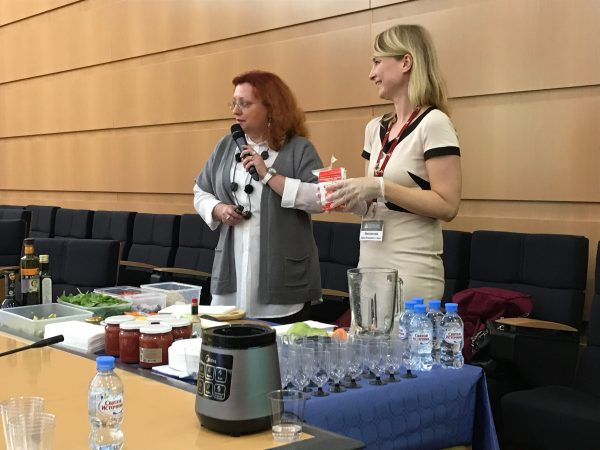 Мастер-класс провели Мисникова Инна Владимировна и Иванова Екатерина Сергеевна